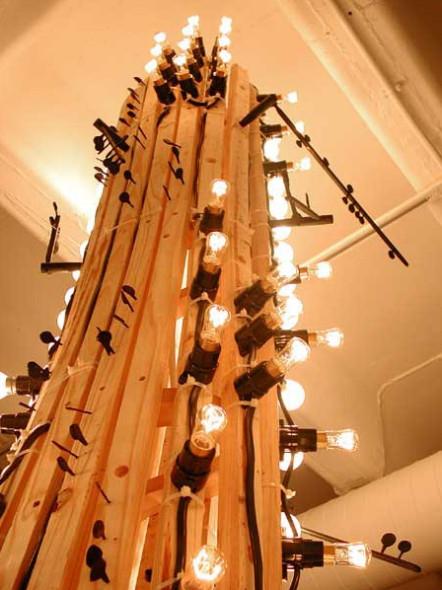 """Love's Ballast"" by Clive van den Berg, 2003, Installation view."