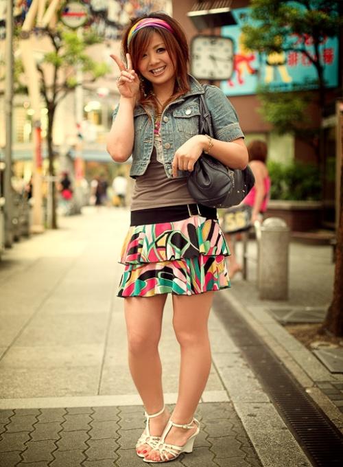 Japanese Street Fashion 4 by Akif Hakan Celebi