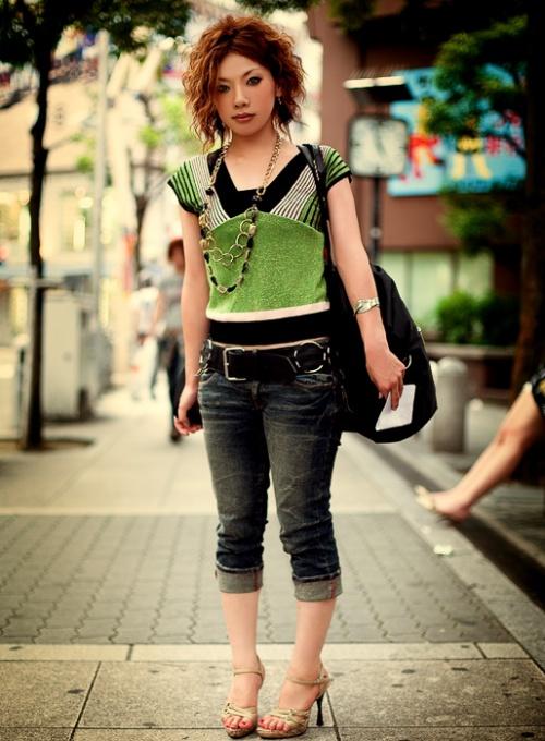 Japanese Street Fashion 6 by Akif Hakan Celebi