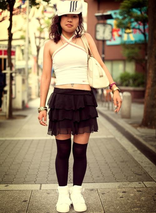 Japanese Street Fashion 7 by Akif Hakan Celebi