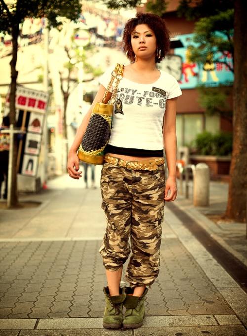 Japanese Street Fashion 8 by Akif Hakan Celebi