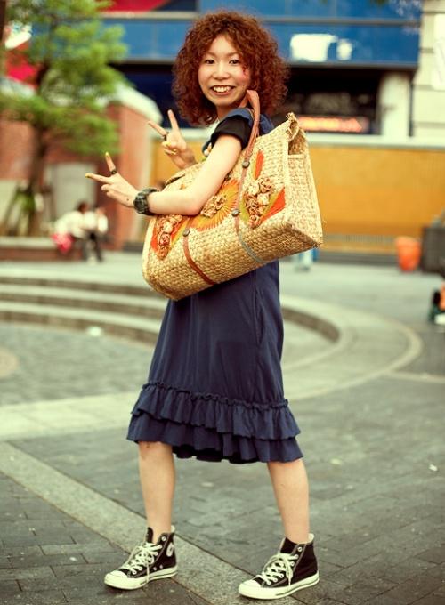 Japanese Street Fashion 9 by Akif Hakan Celebi