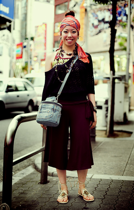 Japanese Street Fashion 17 by Akif Hakan Celebi