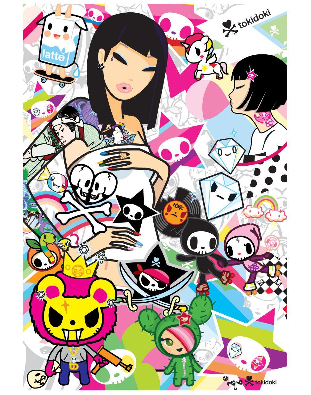 Featured Designer Simone Legno Of Tokidoki  The Origami Cupcake Blog-6123
