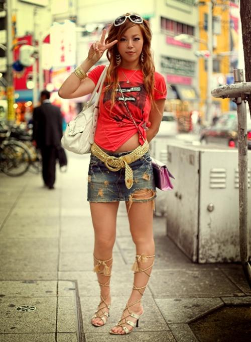 Japanese Street Fashion 14 by Akif Hakan Celebi