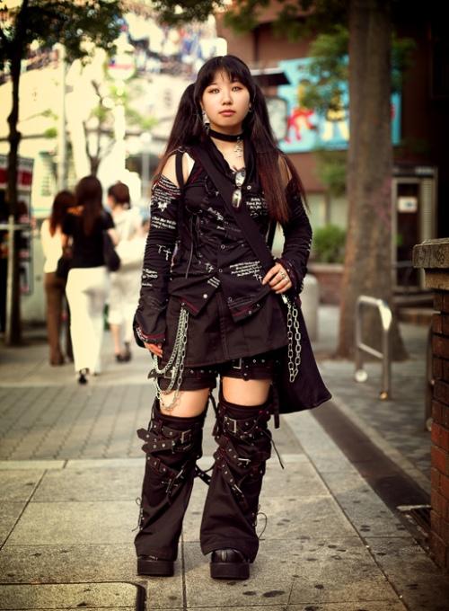 Japanese Street Fashion 15 by Akif Hakan Celebi